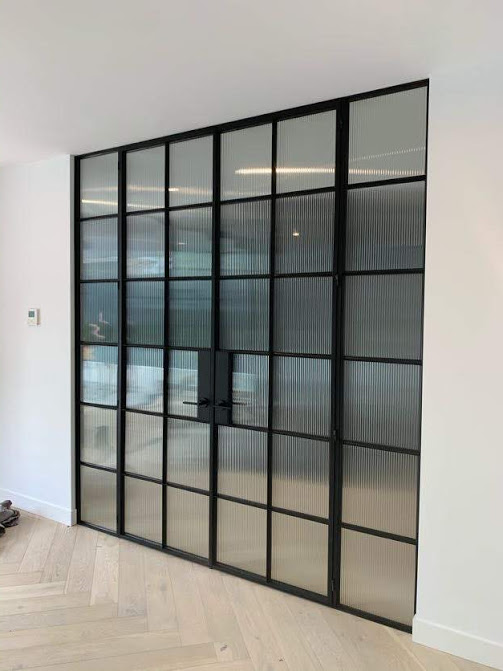 French Doors Reeded